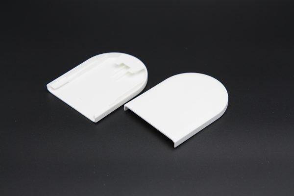 End caps for Roman shades Cordless-Shade.com