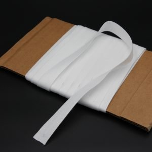 "Twill tape 3/4"" white Cordless-Shade.com"