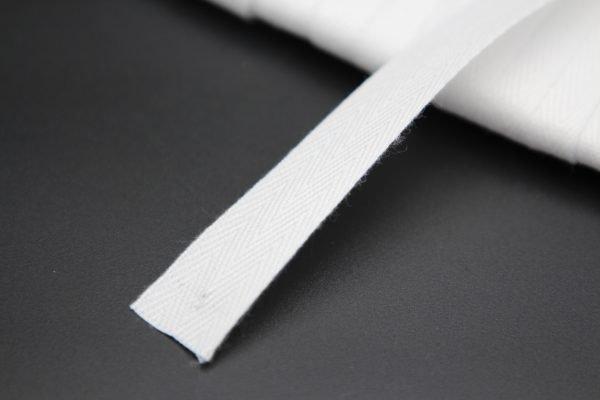 "Twill tape 3/4"" white Cordless-Shade.com"